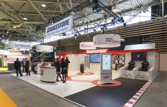 Stand Bridgestone - Salon Solutrans - photo01