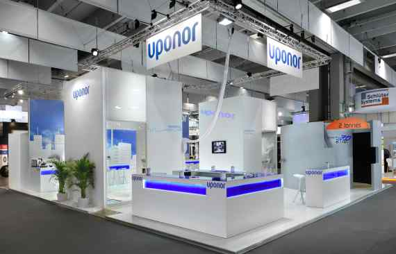 Stand Uponor - Salon Interclima - photo01