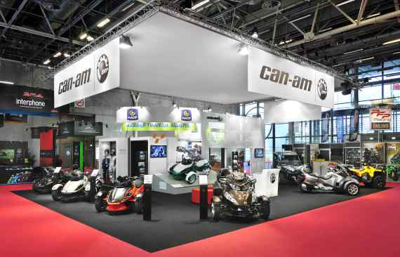 Stand BRP - Salon MOTO - CANAM vacexpo